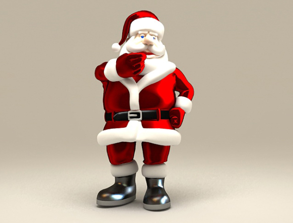 santa claus - 3DOcean Item for Sale