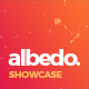 Albedo - Full Screen App Showcase PSD Template - ThemeForest Item for Sale