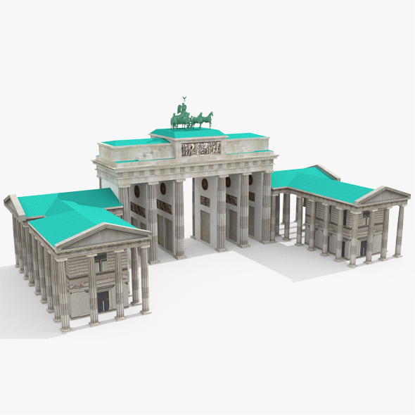 Brandenburg Gate - 3DOcean Item for Sale