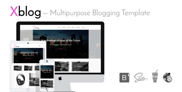 Xblog — Multipurpose Blogging Template