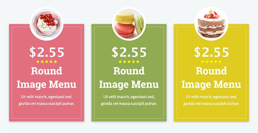 Restaurant Food Menus For Visual Composer By Unitecms  Codecanyon