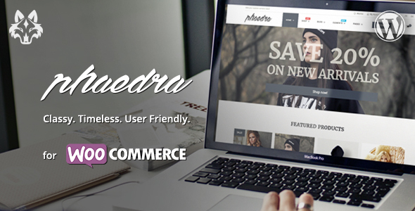 Phaedra – Clean & Simple WooCommerce Theme with AJAX Navigation
