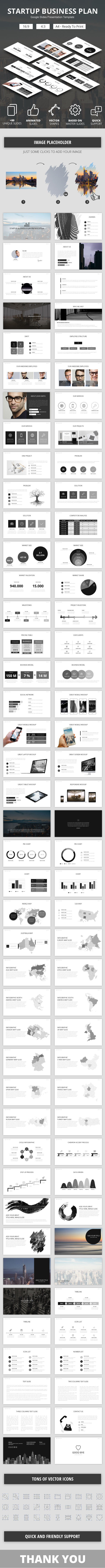 Startup Business Plan Google Slides Presenation Template - Google Slides Presentation Templates