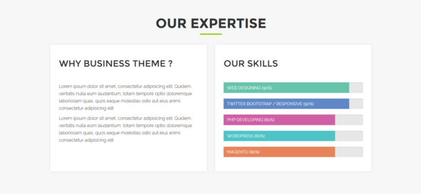 Alina – One Page Responsive HTML5 Portfolio Template