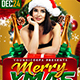 Merry Xmas Party Flyer Template - GraphicRiver Item for Sale