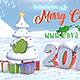 Snow Logo Christmas Greeting - VideoHive Item for Sale