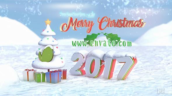 Christmas Snow Logo