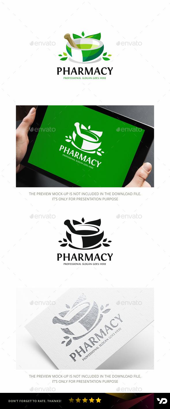 Pharmacy - Nature Logo Templates