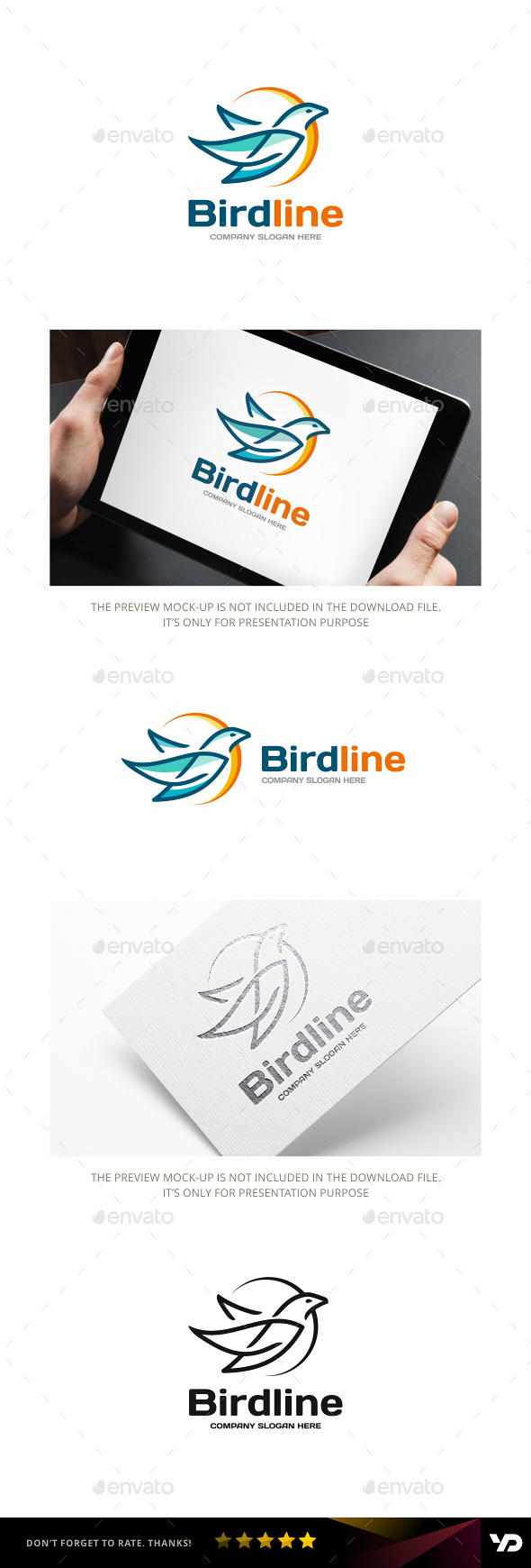 Bird - Animals Logo Templates
