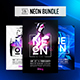 3in1 NEON Bundle - GraphicRiver Item for Sale