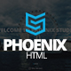 Phoenix - Responsive One Page Parallax Template - ThemeForest Item for Sale
