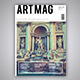 ArtMag Magazine Template - GraphicRiver Item for Sale