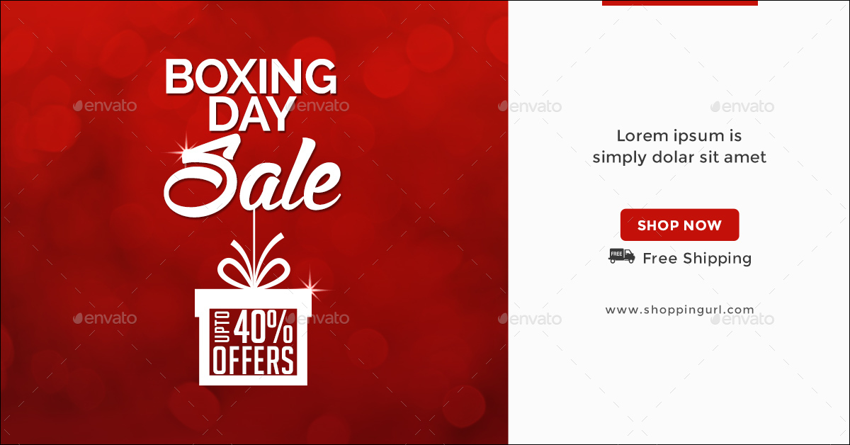 BEE 1860 Boxing Day Sale Banners 01 Preview1 Preview2 Preview3
