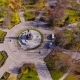 Aerial Shot of the Russian South City - Krasnodar. The Monument To Catherine II. - VideoHive Item for Sale