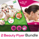 Spa | Beauty | Salon Flyer Bundle V4