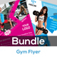 Fitness Flyer - Gym Flyer Bundle V3