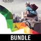 4 Corporate Business Flyer Templates Bundle