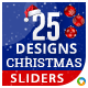 Christmas Sliders - 25 Designs