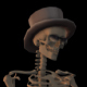 Party Dancer Skeleton - VideoHive Item for Sale