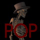 Old Pop Music And Skeleton - VideoHive Item for Sale