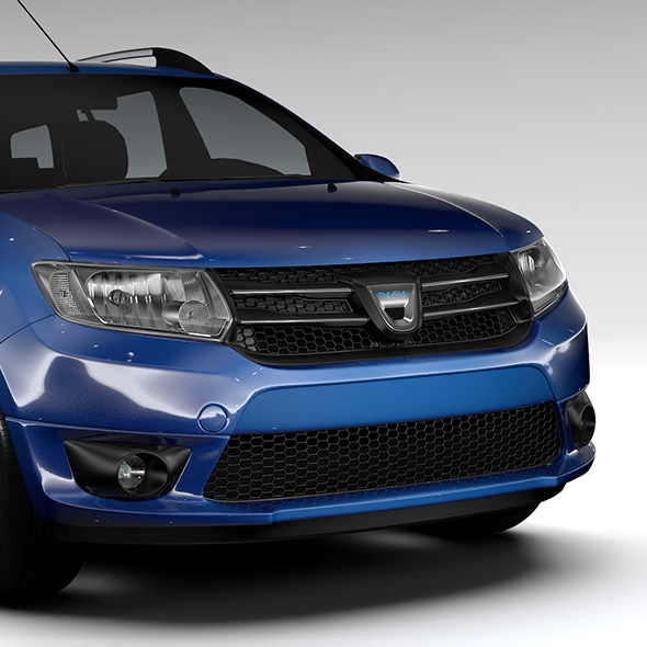 Dacia Logan MCV 2016 - 3DOcean Item for Sale