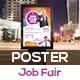 Job or Career  Fair Poster Template V2