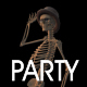 Skeleton Party Time - VideoHive Item for Sale
