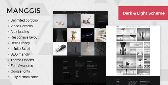 Manggis - Creative Portfolio and Blog Theme - Portfolio Creative