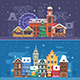 Snow City and Winter Festival Banners - GraphicRiver Item for Sale