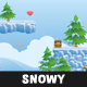 Snowy Game Platformer Nulled