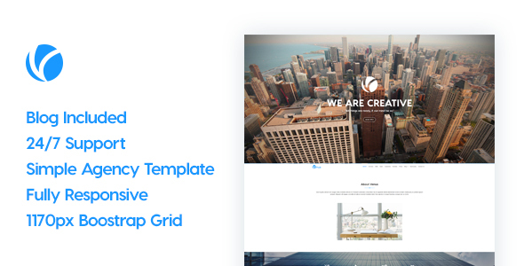 Venus | Responsive Business HTML5 Template