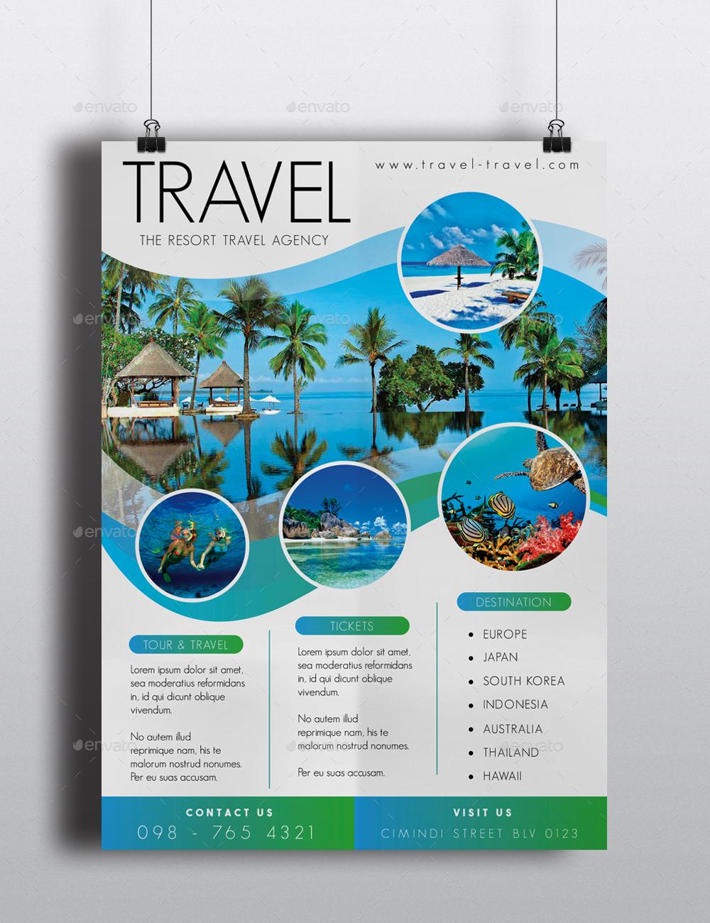 30+ Trends Ideas Tourism Flyer
