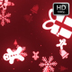 Christmas Red Motion Background - VideoHive Item for Sale