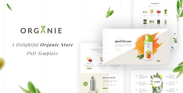 Organie – A Delightful Organic Store eCommerce Prestashop Theme