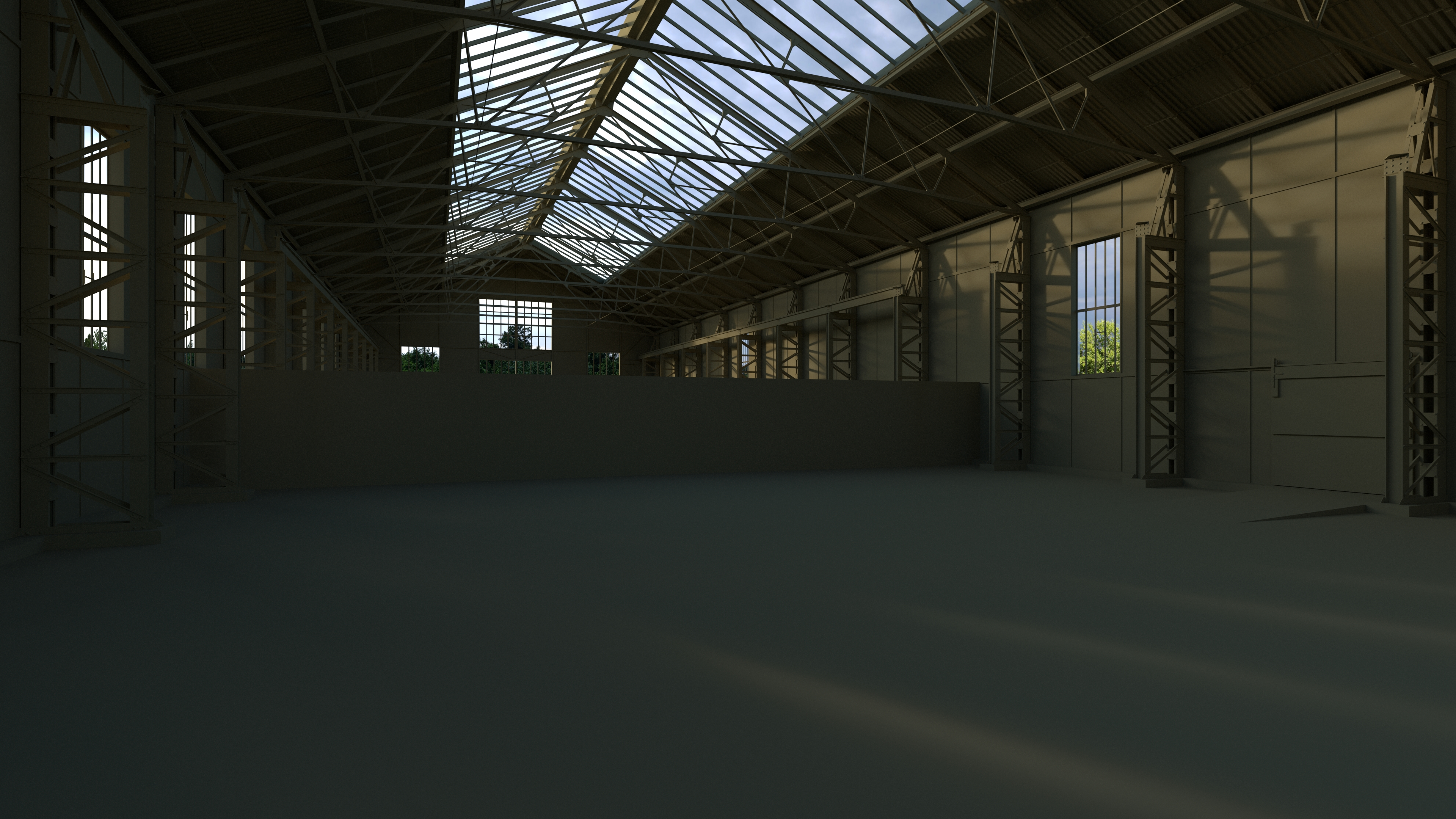 Old Warehouse By Pytorator 3docean