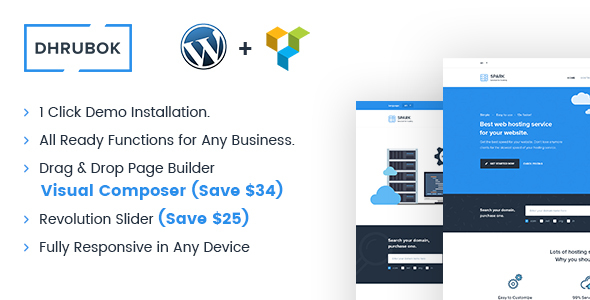 Dhrubok – Ultimate Business WordPress Theme