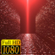 Red Particles Tunnel HD