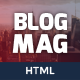 BlogMag - Responsive HTML5 Magazine Template