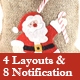 Christmas New Year and Events Responsive Layouts and Notification Email Template + Online Builder - ThemeForest Item for Sale