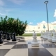 Outdoor Big Chess in the Garden - VideoHive Item for Sale
