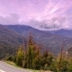 Autumn in High Mountains Before Sunset. Sochi, Russia. Krasnaya Polyana - VideoHive Item for Sale