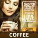 Coffee Poster for Coffee Shops - GraphicRiver Item for Sale
