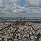 Panoramic view of Paris, France - VideoHive Item for Sale