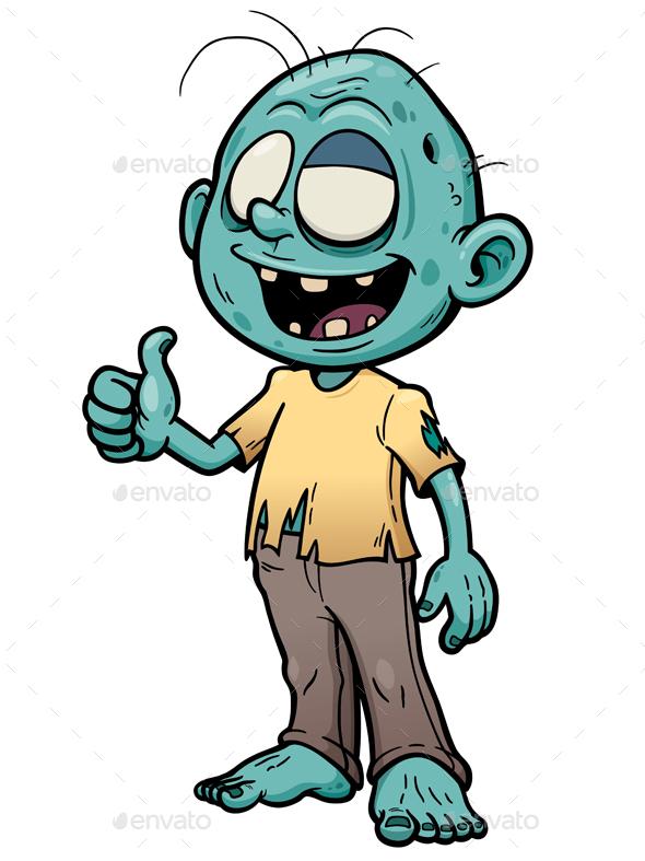 Zombie - Characters Vectors