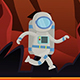Astronout Mascot Animated - VideoHive Item for Sale