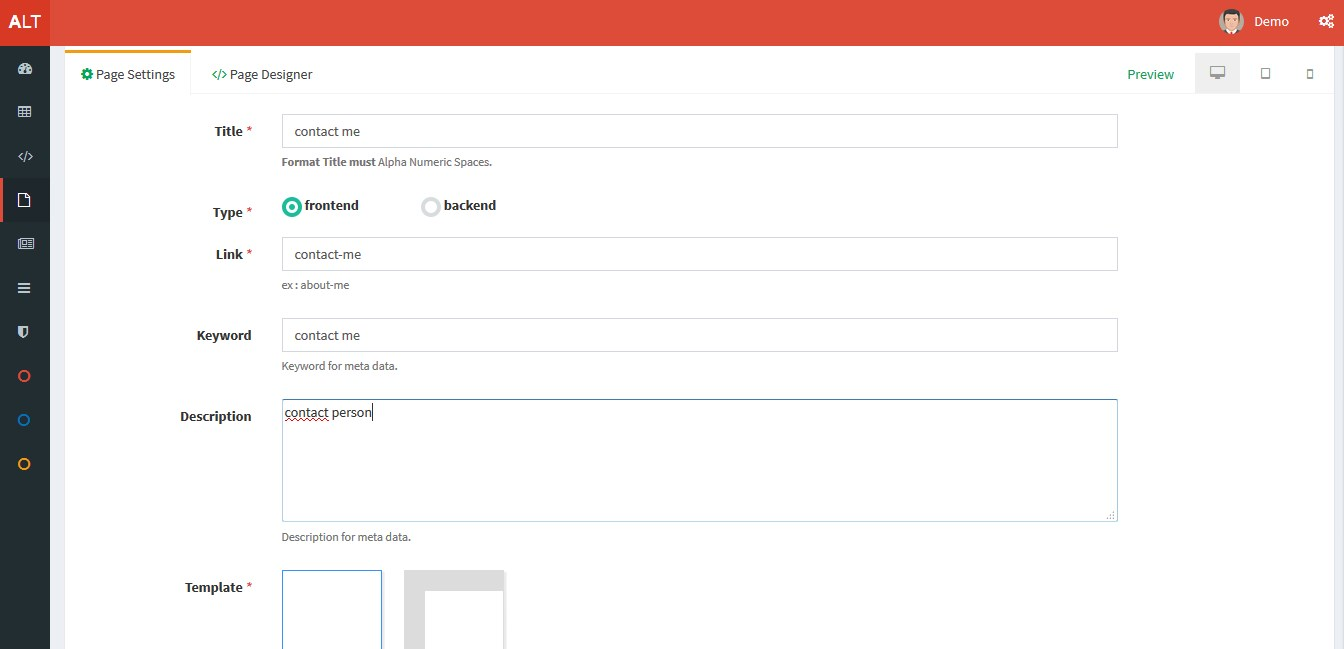 Cicool - Page, Form, Rest API and CRUD Generator