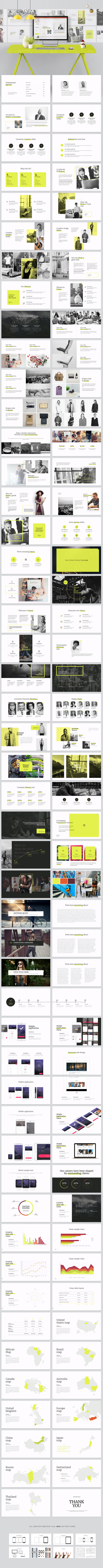 Razor-Powerpoint Template - Business PowerPoint Templates