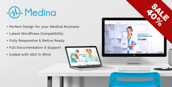 Medina | WordPress Medical & Health Theme