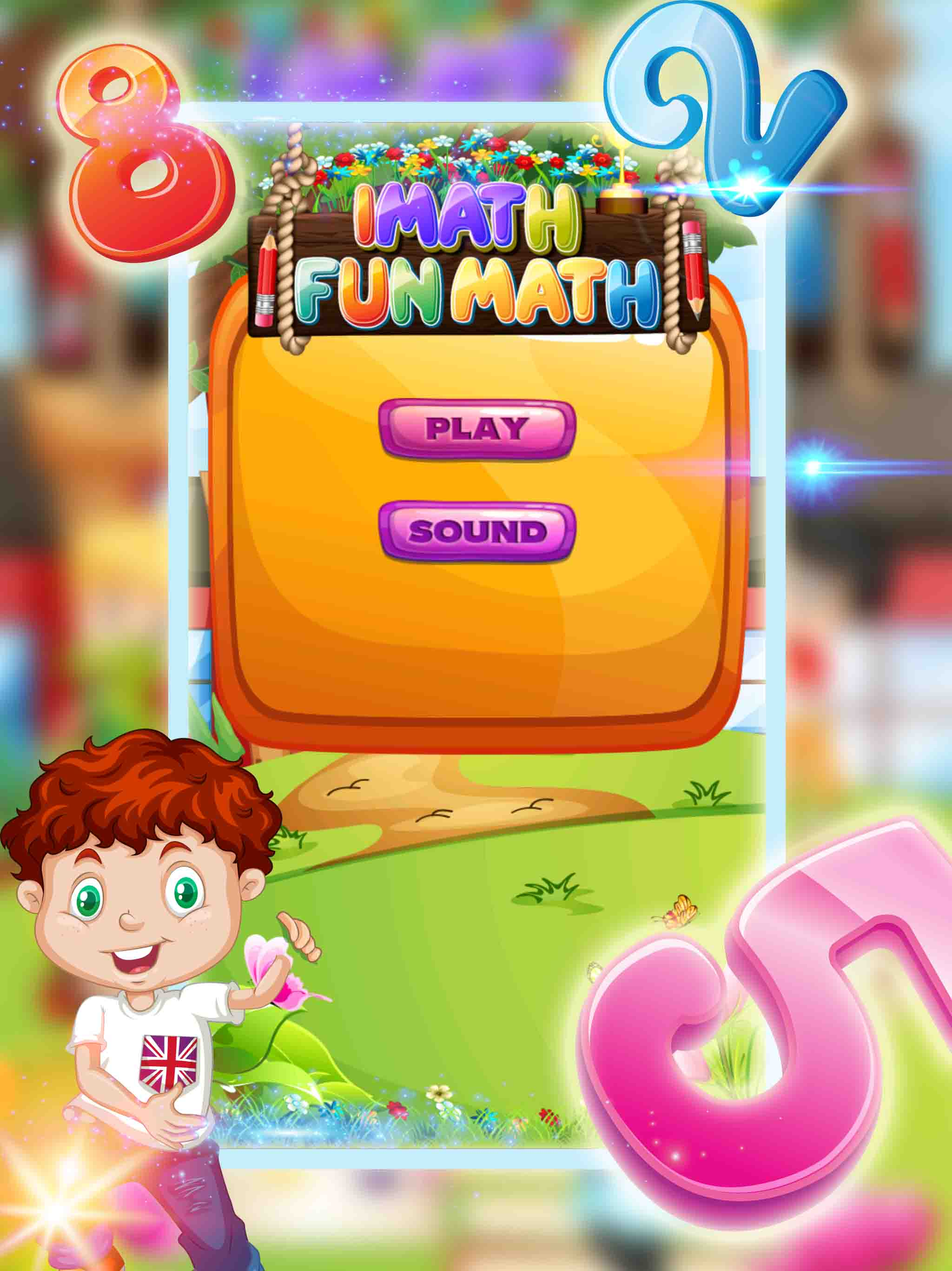 iMath Fun Learning Educational App Game for Kids by samiaa310