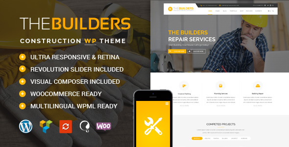 The Builders – Construction WordPress Theme